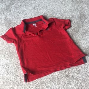 🧩8/$45🧩 Red Polo 4T